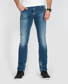 Camel Active Madison Dark Blue Tall Jeans. Slim Fit Tall Mens ...