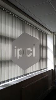 The Green I Signs Blog: Window etch graphics for IPCL fitted by Green I Si...