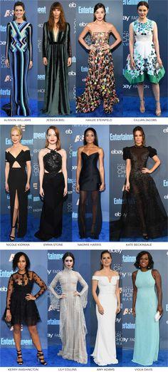 blogmixes: Critics Choice Awards 2017 Looks - www.fashionismo...
