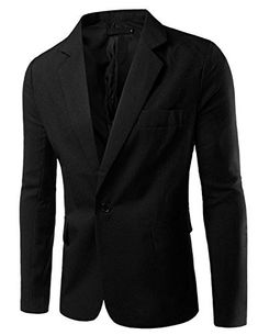 """Pishon Men's Slim Fit Blazer Jacket Solid Cotton Casual One Button Sport Coats       Famous Words of Inspiration...""""Treasure the love you receive above all. It will survive long after your good health has vanished.""""   Og Mandino — Click...  More details at https://jackets-lovers.bestselleroutlets.com/mens-jackets-coats/suits-sport-coats/sport-coats-blazers/product-review-for-pishon-mens-slim-fit-blazer-jacket-solid"""