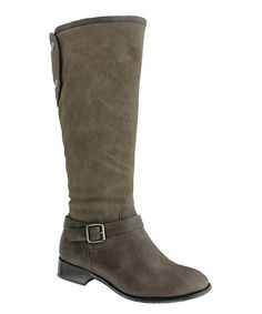 Take a look at this Gray Emerson Boot by Pierre Dumas on #zulily today!     $31.99