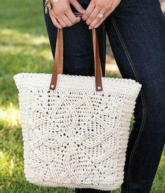 Lindos modelos de bolsa de crochê