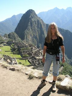 Dr. Carol Parker, Director of Southwestern Counseling Center, in Peru...