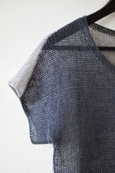 Knit Tee -- Knit T-Shirt