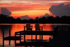 Sunset at The Inn at Tabbs Creek