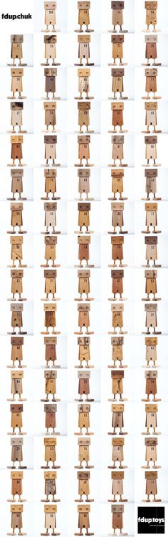 scrap wood robots
