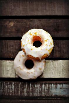 Bakeaholic Mama: Grapefruit Glazed Cake Doughnuts