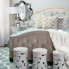 Nicolette Bed from Z Gallerie