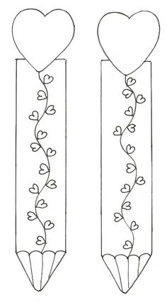 Bookmarks for VDay Free Printable Bookmarks, Bookmark Template, Diy Bookmarks, Corner Bookmarks, Colouring Pages, Coloring Sheets, Coloring Books, Step Card, Art For Kids