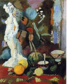 Matisse. Still Life with Statuette.