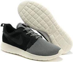 new concept b4f08 a5982 2014 Nike Roshe Run HYP QS Mens Light Weight Mesh Black Gray Low Running  Shoes Nike