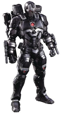 Marvel Universe Variant Play Arts Kai War Machine Action Figure is part of pencil-drawings - A new interpretation of War Machine's armor Stands 10 5 tall Exchangeable weapon parts Includes display stand Marvel Art, Marvel Dc Comics, Marvel Heroes, Marvel Characters, Iron Men, Iron Man Avengers, Star Citizen, Coleccionables Sideshow, War Machine Iron Man