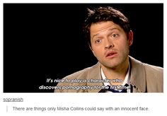 This is why I love Misha Collins.