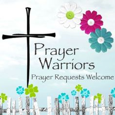 IF THERE IS ANYTHING THAT WE CAN PRAY WITH YOU ABOUT, PLEASE EITHER PIN TO THE PRAYER BOARD OR SIMPLY COMMENT IN THE SECTION BELOW.  YOU DO NOT HAVE TO GIVE MANY DETAILS - UP TO YOU.  GOD KNOWS ALL THE DETAILS AND HE CARES!  WHY NOT ALLOW US TO PRAY IN AGREEMENT WITH YOU AND THE WORD OF GOD FOR YOUR NEEDS/PRAYER REQUEST?  BLESSINGS!!  DeeDee Hanks @ Prayer Warriors ~ Please Pray!!