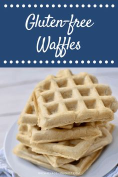Love waffles and follow a gluten-free diet? Check out this recipe that's gluten-free, dairy-free, and vegan!