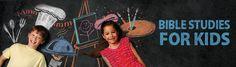 Bible studies for kids - home schooling bible curriculum