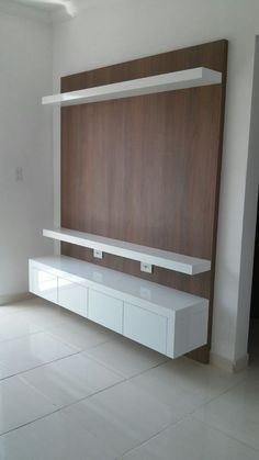 Meuble Tv Angle, Living Room Tv Unit, Living Room Decor, Living Room Designs, Be. Living Room Tv Unit, Small Apartment Decorating, Room Design, Modern Tv Wall Units, Tv Wall Design, Wall Unit Designs, Tv Room Design, Wall Design, Tv Wall Decor