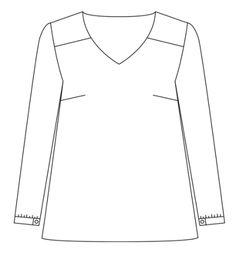 Patron blouse d'après robe Be Pretty | Atelier Scammit