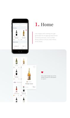 Interaction Design: Wine-Searcher Application