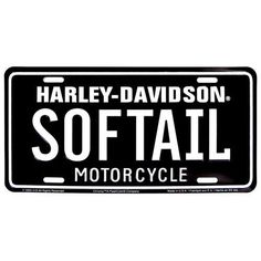 Softail Auto Plate