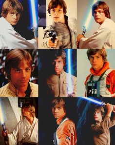 Luke Skywalker is awesome in all the Star Wars movies.
