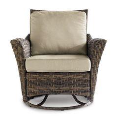 WholeHome CASUAL(TM/MC) Hampton Swivel Glider Chair   2