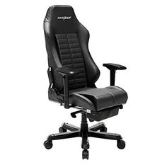 The DXRacer Iron series chairs are incredibly well-built and weigh a full 73 lbs due to their steel columns and aluminum stands. These chairs are incredibly well cushioned and are upholstered with the best PU leather. The suspension in this DXRacer chair is a spring gas system sourced from Germany, and it performs like none other. The chair also has detachable head and lumbar cushions.