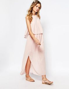 Darccy | Darccy Frill Layered Maxi Dress