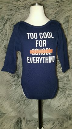 OLD NAVY boys infant 3-6 mo one piece body suit, blue too cool for.. | Clothing, Shoes & Accessories, Baby & Toddler Clothing, Boys' Clothing (Newborn-5T) | eBay!