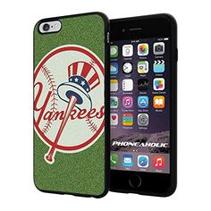 "MLB New York Yankess Stripes Baseball,Cool iPhone 6 Plus (6+ , 5.5"") Smartphone Case Cover Collector iphone TPU Rubber Case Black Phoneaholic http://www.amazon.com/dp/B00VSIU6S4/ref=cm_sw_r_pi_dp_g7Knvb106WTZ1"