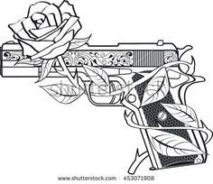 58 Trendy flowers drawing rose coloring pages tattoo ideas Rose Coloring Pages, Tattoo Coloring Book, Skull Coloring Pages, Free Adult Coloring Pages, Coloring Pages To Print, Coloring Books, Graffiti Drawing, Graffiti Art, Tattoo Design Drawings