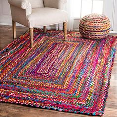 Casual Handmade Braided Cotton Multi Area Rugs (5' x 8', ... https://www.amazon.com/dp/B01CUVAH1I/ref=cm_sw_r_pi_dp_x_f6lZyb35YY0JN