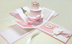 Birthday cake explosion box - bjl