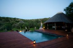 Bukela Lodge, Amakhala Game Reserve, South Africa. A private luxury safari lodge - perfect for honeymooners.  # honyemoon #bukela #amakhala #southafricaluxurylodges www.realafrica.co.uk