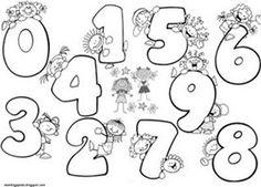 numeros del 0 al 10 para colorear - ALOjamiento de IMágenes