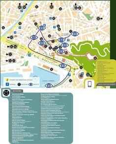 Segovia Map Tourist Attractions httpwwwplanetwarecomtourist