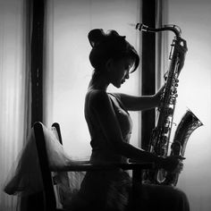 Beauty & saxophone