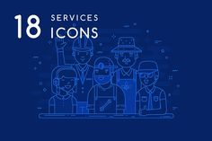 Services icons by Pykhtik on @creativemarket