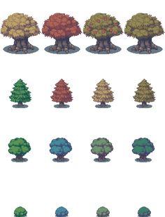 treesREBOOT - RPG Maker XP Tilesets - Gallery - Game Dev Unlimited Forums