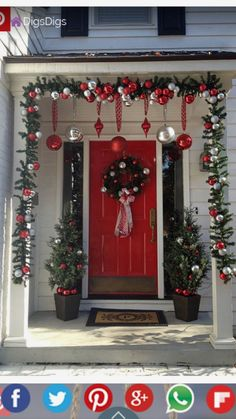 Below are the Front Porch Christmas Decoration Ideas. This post about Front Porch Christmas Decoration Ideas was posted under the … Porch Christmas Tree, Outdoor Christmas Decorations, Simple Christmas, Beautiful Christmas, Christmas Holidays, Christmas Wreaths, Christmas Crafts, White Christmas, Christmas Lights Outside