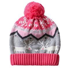 Home Prefer Baby Girls Boys Kids Fair Isle Christmas Hat Warm Crochet Knit Cap with Pom Snowflake Reindeer Beanie Hat M Home Prefer http://www.amazon.com/dp/B0189EHVIM/ref=cm_sw_r_pi_dp_SFoywb1QFY5SG