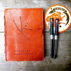 Taurus Zodiac Handmade Leather Journal from Soothi | Style With Substance
