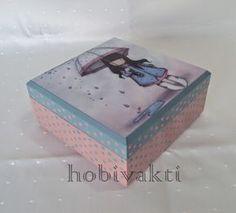 ♥♥ Hobi Vakti ♥♥: Mavi Pembe Kutu
