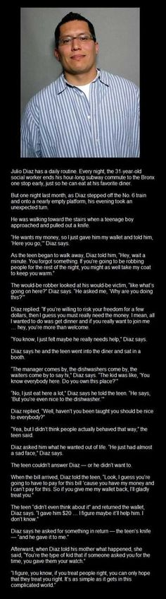 This is the most beautiful thing I've read in a long time. Faith In Humanity Restored – 24 Pics