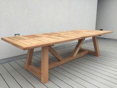 Custom Made Western Red Cedar - Outdoor Dining Table