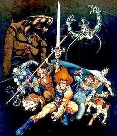 ¿Se acuerdan de los Thundercats?