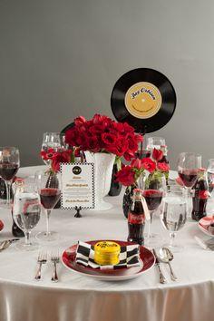 50s Wedding Theme | The Champagne Wedding Theme