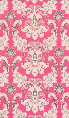 Susa Fabric in pink  Would be so pretty in a little girls room.