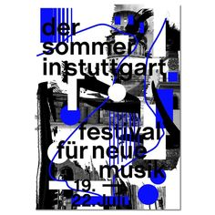 "Gefällt 63 Mal, 7 Kommentare - @valentinkopka auf Instagram: ""One of my unused poster sketches for the new identity of ""Der Sommer in Stuttgart"". A festival for…"""