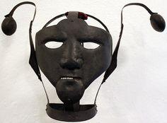 Schandmaskes: masks of shame | Clive Hicks-Jenkins' Artlog: